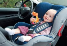Автомобильное кресло для ребенка