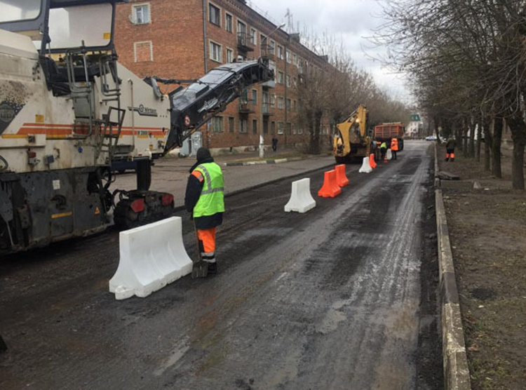 В Орехово-Зуево всерьез принялись за ремонт дорог